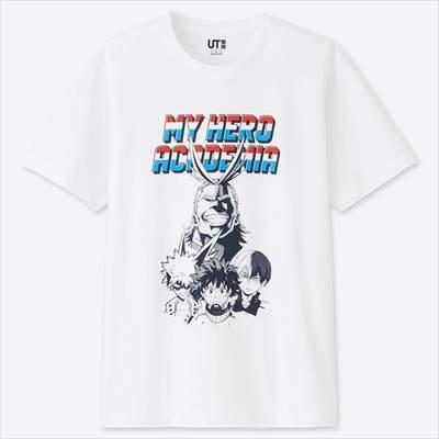MANGA UT 僕のヒーローアカデミア(グラフィックTシャツ・半袖)