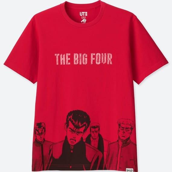 ユニクロのラーメンコラボTシャツのろくでなしBLUES