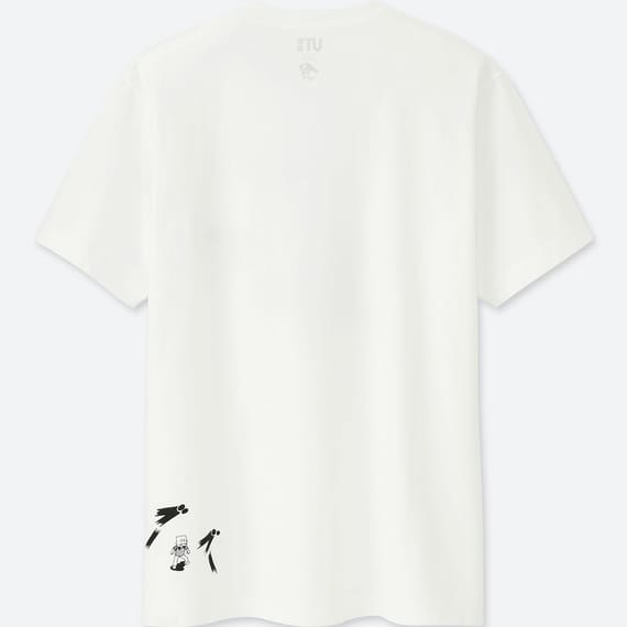 ユニクロのラーメンコラボTシャツのキン肉マンの裏面