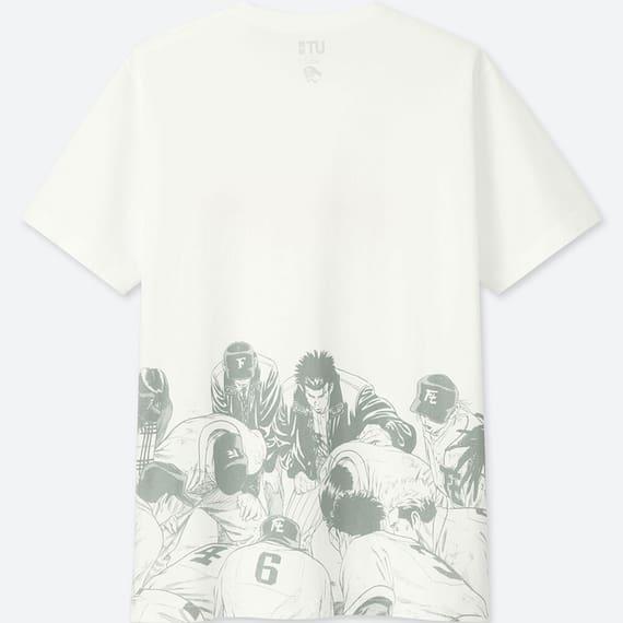 ユニクロのラーメンコラボTシャツのルーキーズの裏面