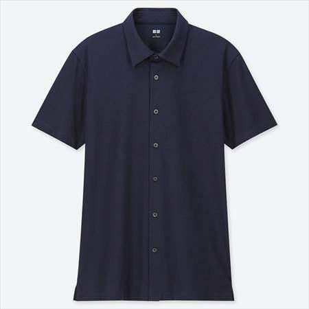 ユニクロのエアリズムフルオープンポロシャツ(半袖)