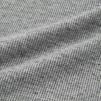 ユニクロのワッフルクルーネックT(半袖)