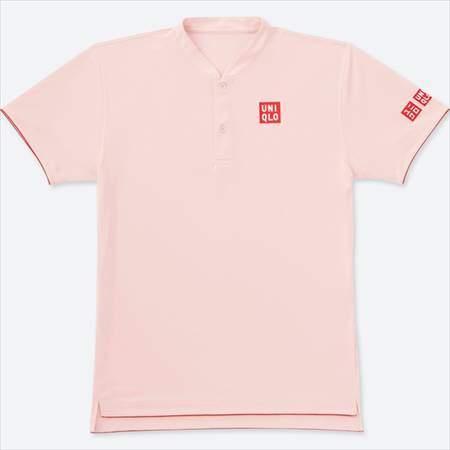 ユニクロのフェデラーモデルのRFドライEXポロシャツ(半袖)18SH