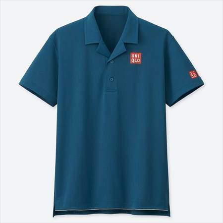 ユニクロのRFドライEXポロシャツ(半袖)19AUS