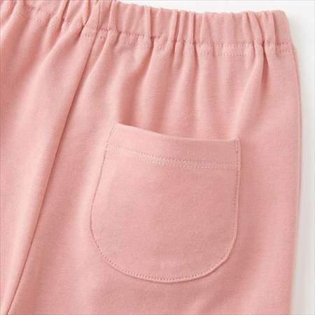 ユニクロのムーミンパジャマのピンク(80-110サイズ)のパンツの後ろポケット