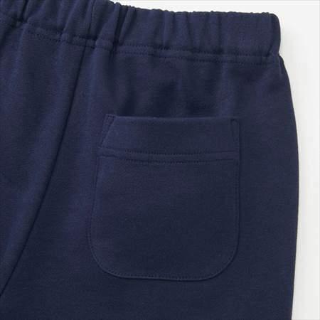 ネイビーのレゴスウェットセット(キッズ)のパンツのうしろポケット