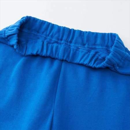 ブルーのレゴスウェットセット(キッズ)のパンツのウエストのアップ