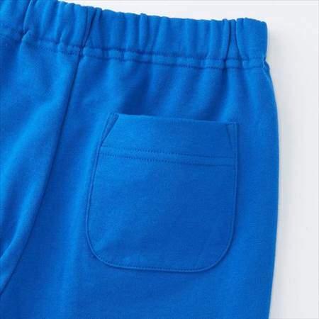 ブルーのレゴスウェットセット(キッズ)のパンツのうしろポケット