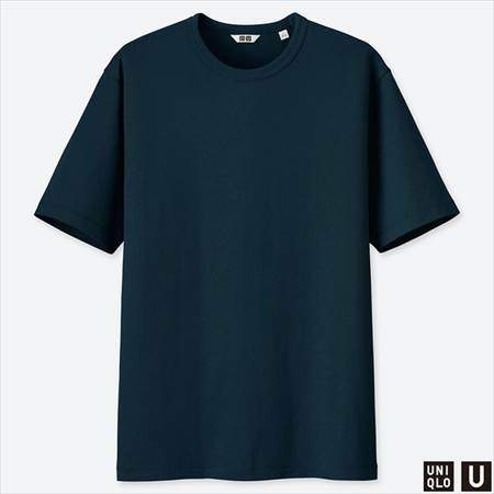 ユニクロUのスーピマコットンTシャツ(半袖)