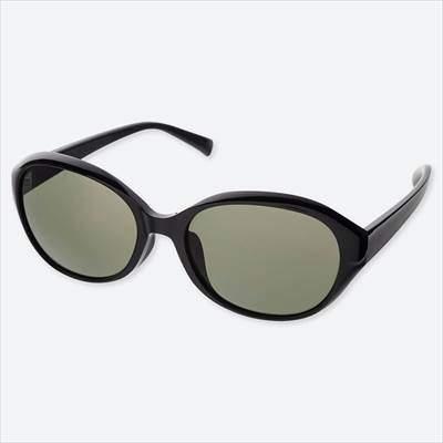 ユニクロのオーバルサングラス(男女兼用)