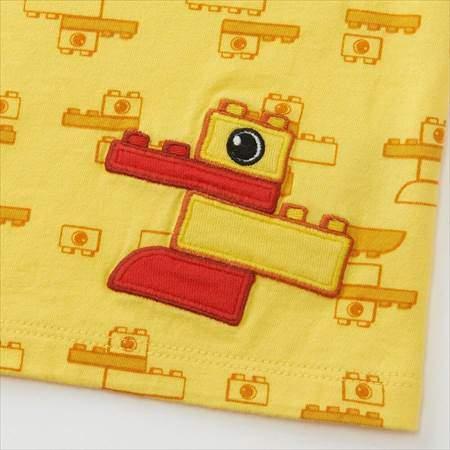 ユニクロのbabyレゴグラフィックT(半袖)