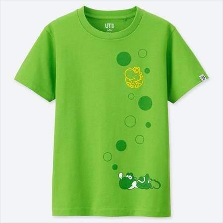 KIDS ニンテンドー スーパーマリオ ファミリーミュージアム グラフィックT(半袖)