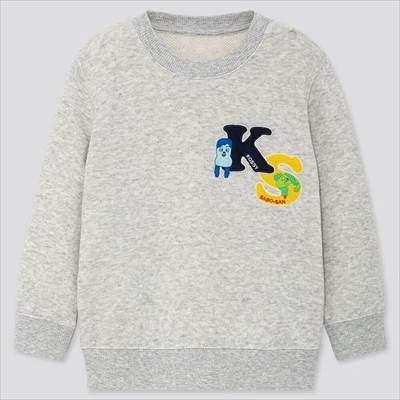 ユニクロのEテレ キッズキャラクターコレクション スウェットシャツ(長袖)