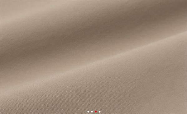 ユニクロの感動パンツ(ウルトラライト・コットンライク)の生地の表面のアップ