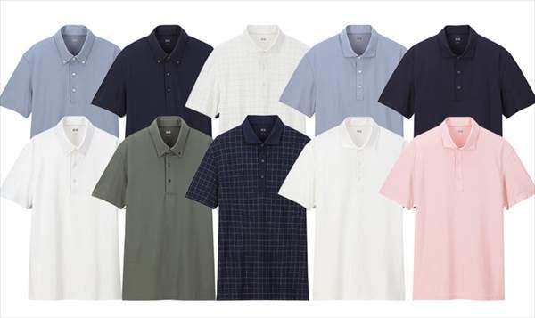 2019年モデルのユニクロのエアリズムポロシャツ4種類
