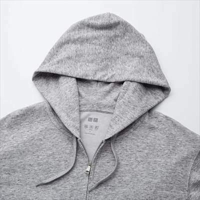 ユニクロのエアリズムUVカットフルジップパーカ(長袖)