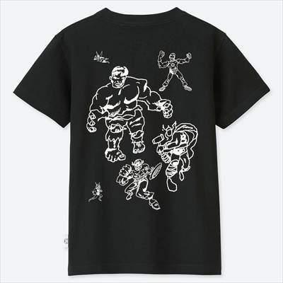ユニクロのKIDSマーベル×ジェイソン・ポラン UT(半袖)