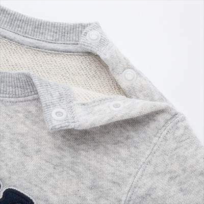 ユニクロの『みいつけた!』スウェットシャツ