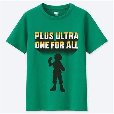 KIDS MANGA UT 僕のヒーローアカデミア(グラフィックTシャツ・半袖)