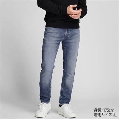 ユニクロのEZYジーンズ(丈標準76~79cm)のコーディネート