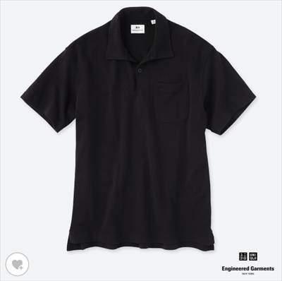 UNIQLO and Engineered Garmentsのオーバーサイズポロシャツ