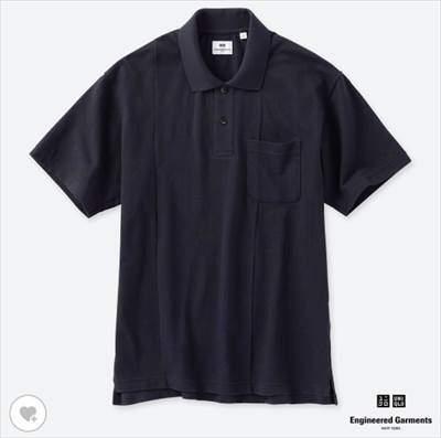 UNIQLO and Engineered Garmentsのカノコプリントポロシャツ