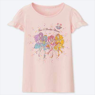 GIRLS スター☆トゥインクルプリキュア UT(グラフィックTシャツ・半袖)