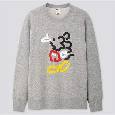 ミッキー アートスウェットシャツ(長袖)