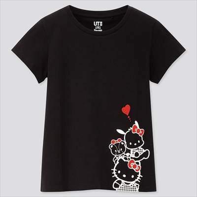 GIRLS サンリオキャラクターズ UT(グラフィックTシャツ・半袖)