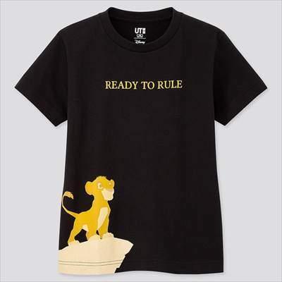 ユニクロのKIDS ライオン・キング UT(グラフィックTシャツ・半袖)