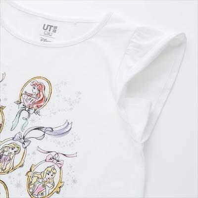 GIRLS ディズニー ヒロインズ UT(グラフィックTシャツ・半袖)