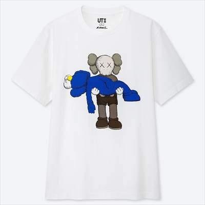 ユニクロのカウズ UT(グラフィックTシャツ・半袖)