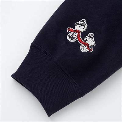 ユニクロのピーナッツスウェットシャツ(長袖)