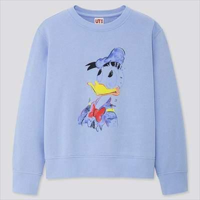 KIDS ミッキー アートスウェットシャツ(長袖)