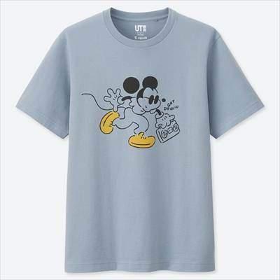 ミッキー アート UT 長場雄(グラフィックTシャツ・半袖)