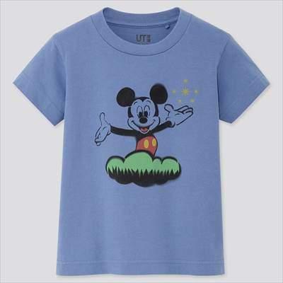 KIDS ミッキー アート UT(グラフィックTシャツ・半袖)