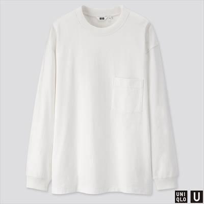 2019年秋冬モデルのユニクロUのクルーネックT(長袖)