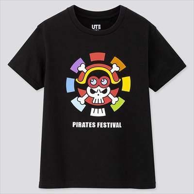 ユニクロのKIDS ワンピース スタンピード UT(グラフィックTシャツ・半袖)