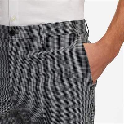 ユニクロの感動ショートパンツ(チェック・丈標準24~27cm)