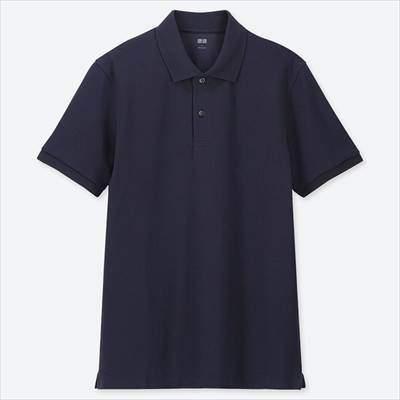 ユニクロのドライカノコポロシャツ