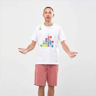ユニクロのザ ゲームピクセルズ UT ぷよぷよ(グラフィックTシャツ・半袖)