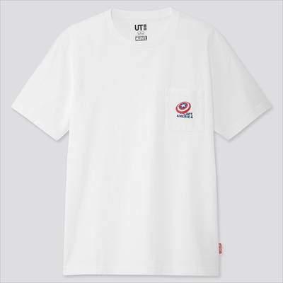 ユニクロのマーベル レトロゲーム UT(グラフィックTシャツ・半袖)