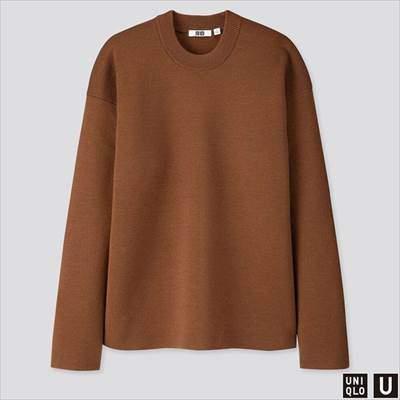 2019秋冬ユニクロUのミラノリブクルーネックセーター(長袖)