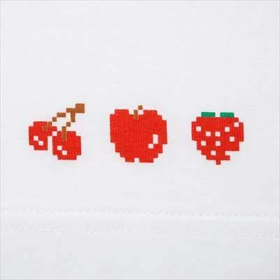 ユニクロのザ ゲームピクセルズ UT パックマン(グラフィックTシャツ・半袖)