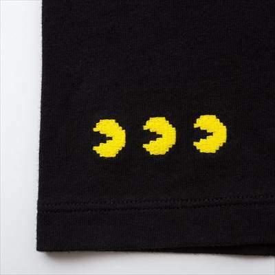 ユニクロのKIDS ザ ゲームピクセルズ UT パックマン(グラフィックTシャツ・半袖)