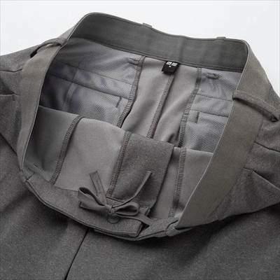 ユニクロのEZYアンクルパンツ(ウルトラストレッチドライEX・丈長め76cm)