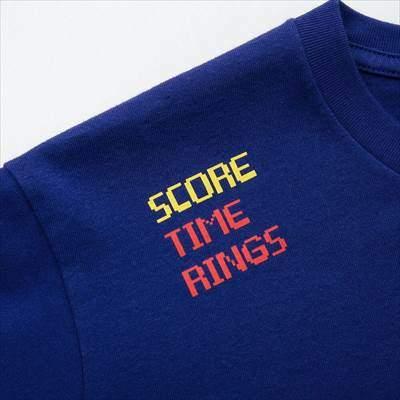 ザ ゲームピクセルズ UT ソニック・ザ・ヘッジホッグ(グラフィックTシャツ・半袖)