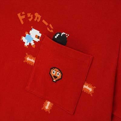 ユニクロのザ ゲームピクセルズ UT ボンバーマン(グラフィックTシャツ・半袖)