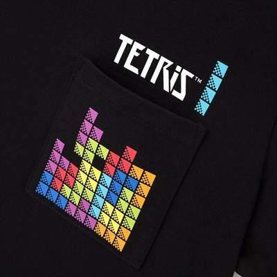 ユニクロのザ ゲームピクセルズ UT テトリス(グラフィックTシャツ・半袖)