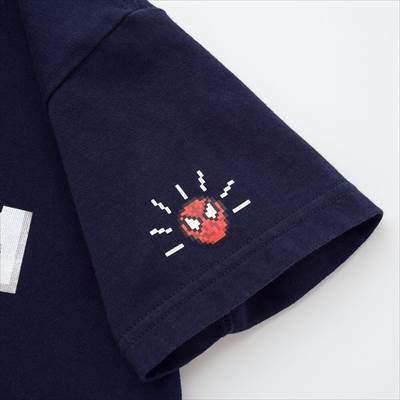ユニクロのKIDS マーベル レトロゲーム UT(グラフィックTシャツ・半袖)